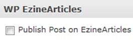 Publish To Ezine