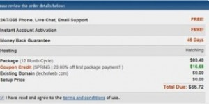 Hostgator May 2010 Discount coupon