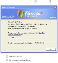 Windows XP Version